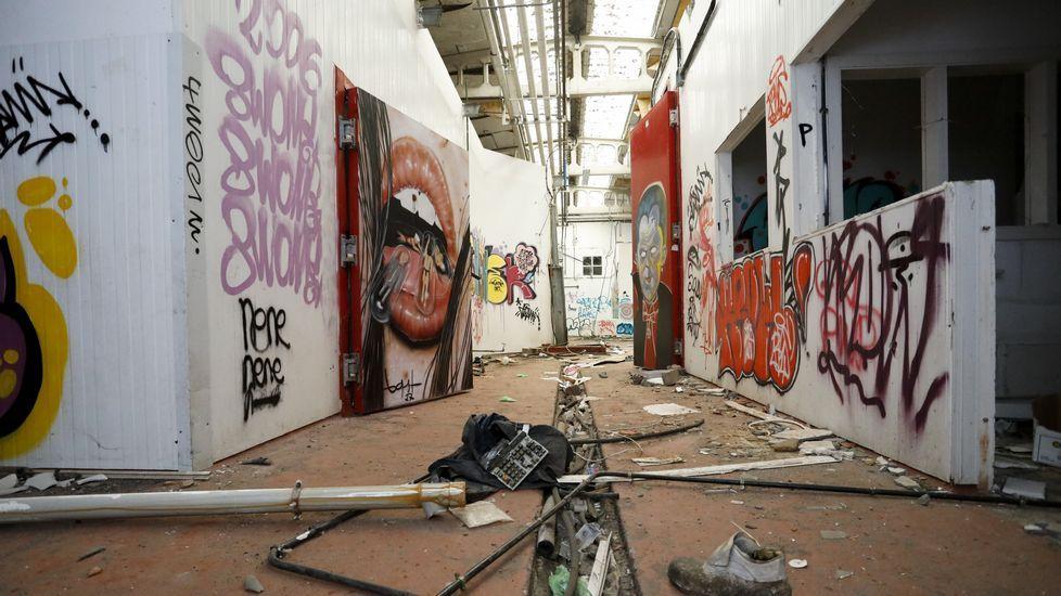 Un matadero valorado en un millón de euros para los grafiteros.