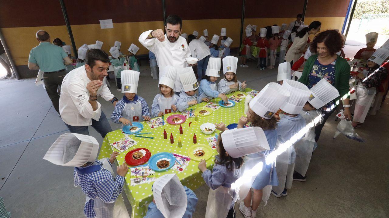 Taller de cocina con los niños del Fingoi 2