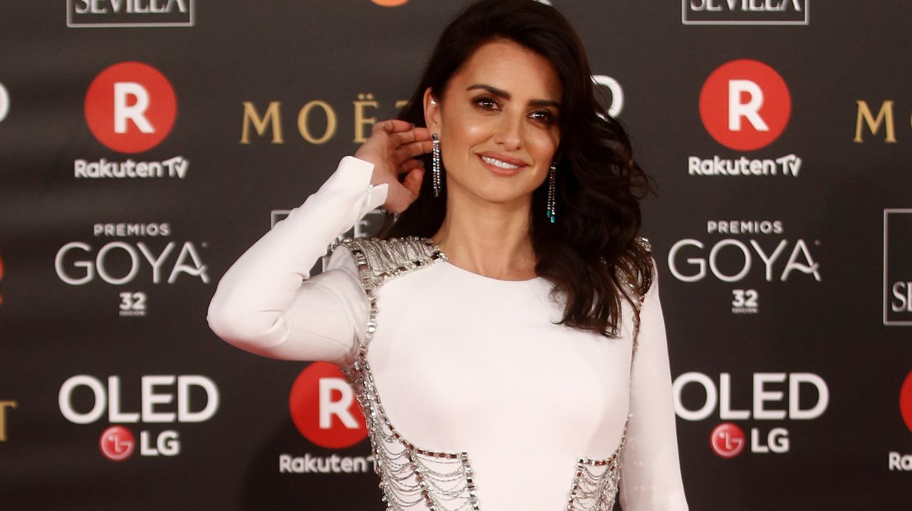 .La actriz Penélope Cruz