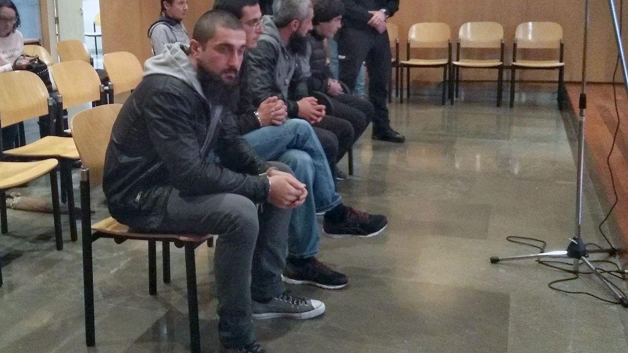 Los cuatro georgianos acusados de integrar una banda que asaltaba domicilios