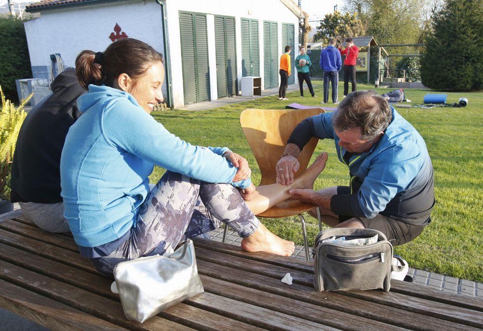 El albergue de peregrinos de Pontevedra está teniendo durante estos días una intensa actividad.
