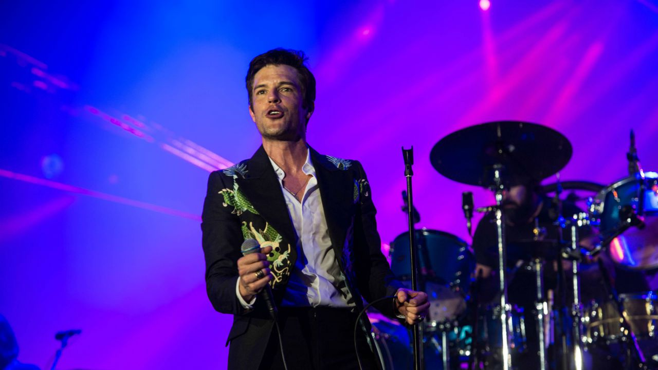 The Killers en el escenario del Rock in Rio Lisboa 2018