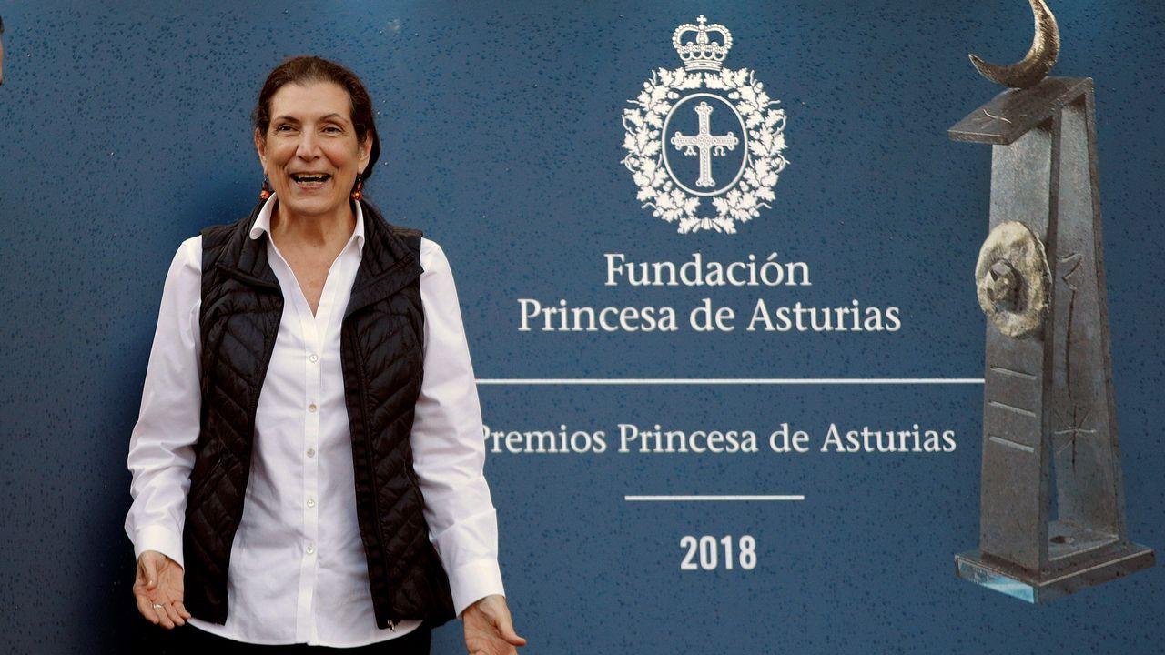 La periodista mexicana Alma Guillermoprieto, Premio Princesa de Asturias de Comunicación y Humanidades 2018,
