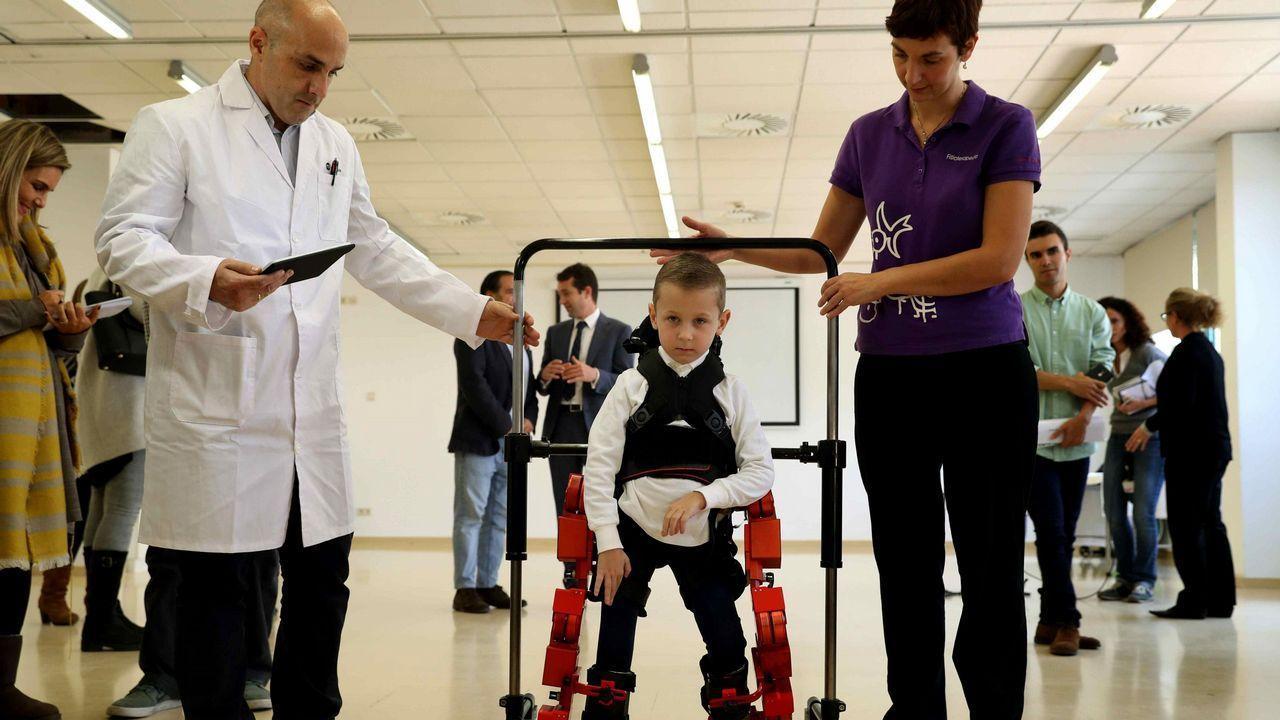 El primer y único exoesqueleto pediátrico portable del mundo