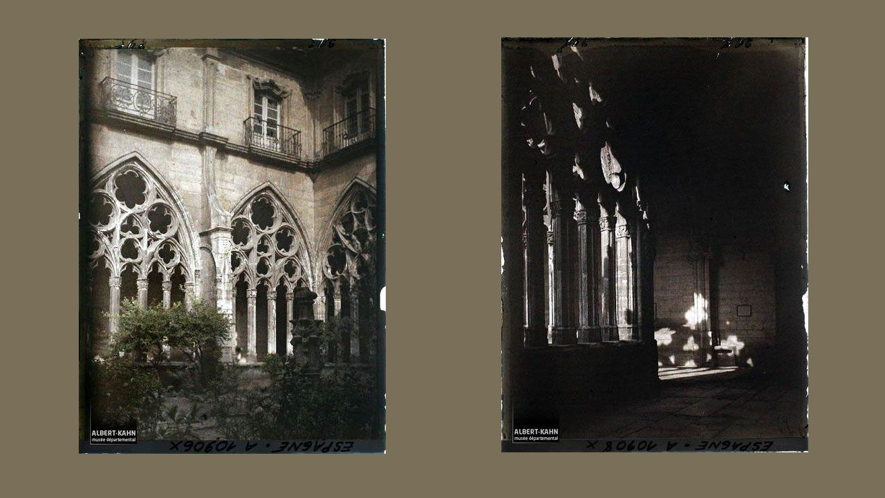 Claustros góticos de la Catedral