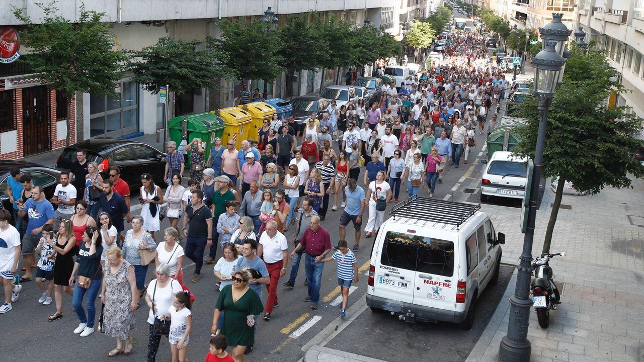 Protesta de os ninguens en vigo