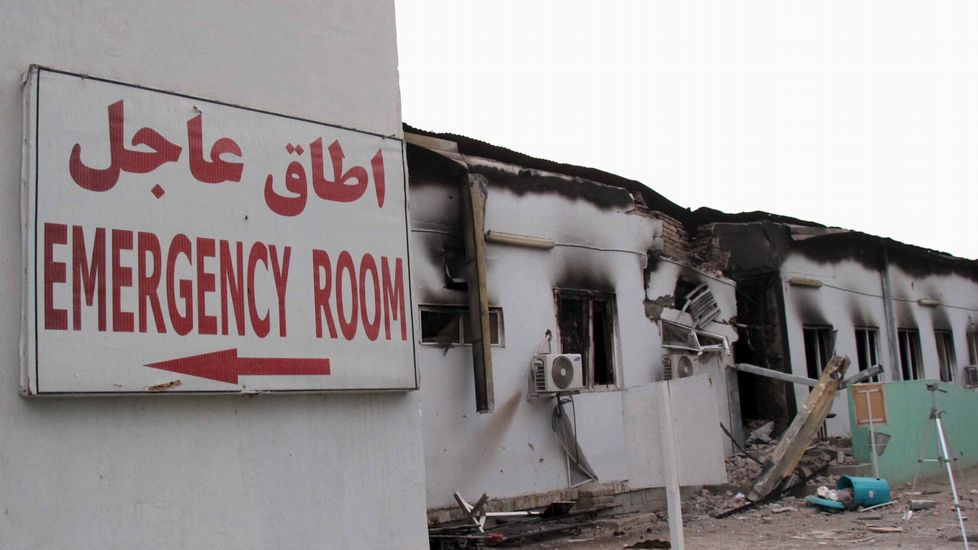 Los refugiados bloquean la autopista que une Grecia y Macedonia.Hospital de MSF atacado en Kunduz