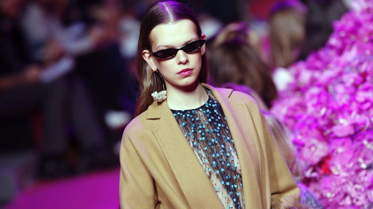 Los diseños de Roberto Verino y Jorge Vázquez deslumbran la Madrid Fashion Week.Desfile de Jorge Vázquez