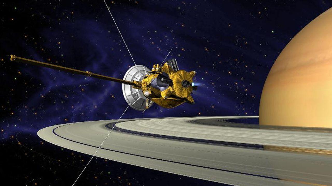 El épico final de Cassini.