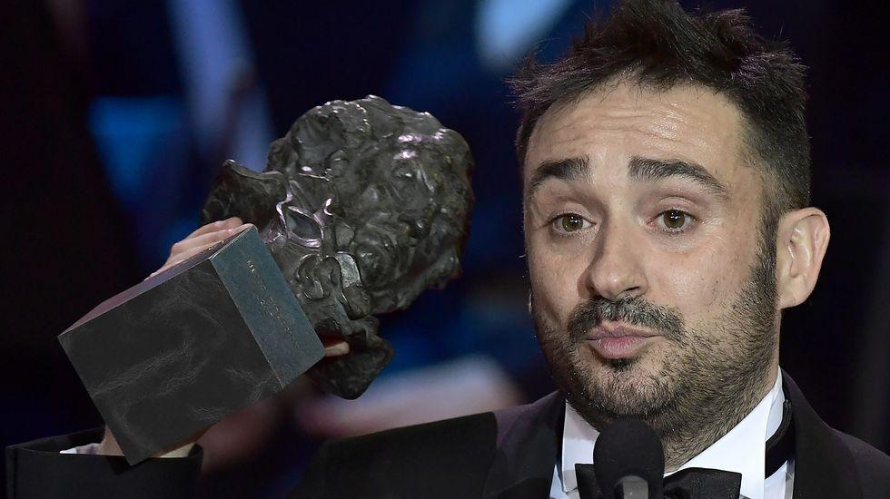 Pelayo responde a las críticas después de los Goya.Emma Suárez.