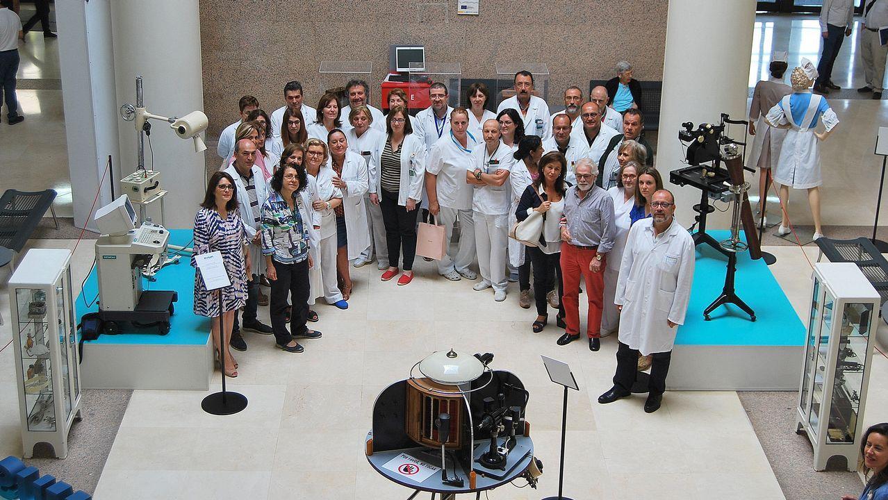 Antihistamínicos, corticoides y adrenalina, con receta.Imagen de pacientes trasladados al hospital hace tres años, durante la apertura