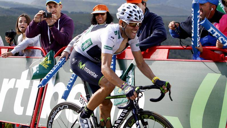 Nibali, durante la presentación del Tour 2015