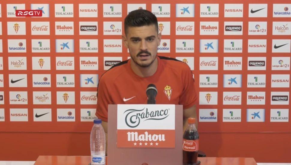 Sergio Álvarez durante la rueda de prensa