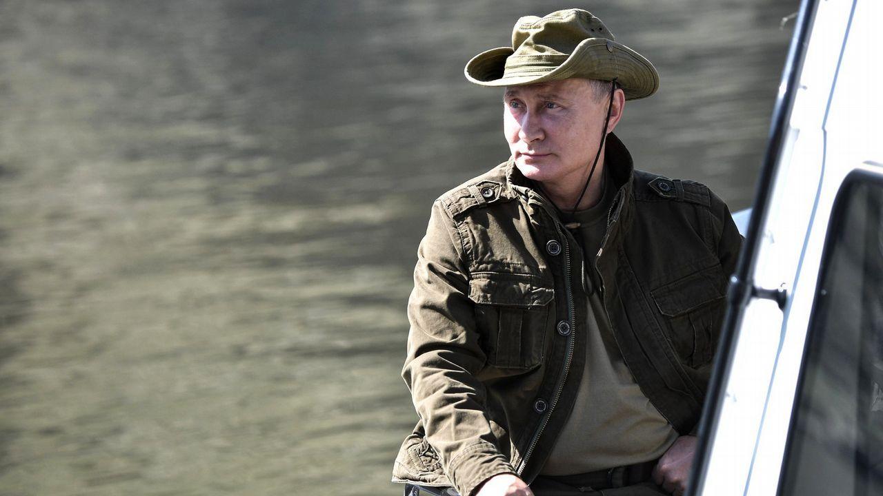 Putin acude a Siberia casi todos los veranos