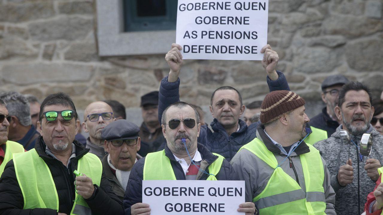 Los pensionistas siguen con sus movilizaciones pese a la promesa de subidas del 1,6 % este año