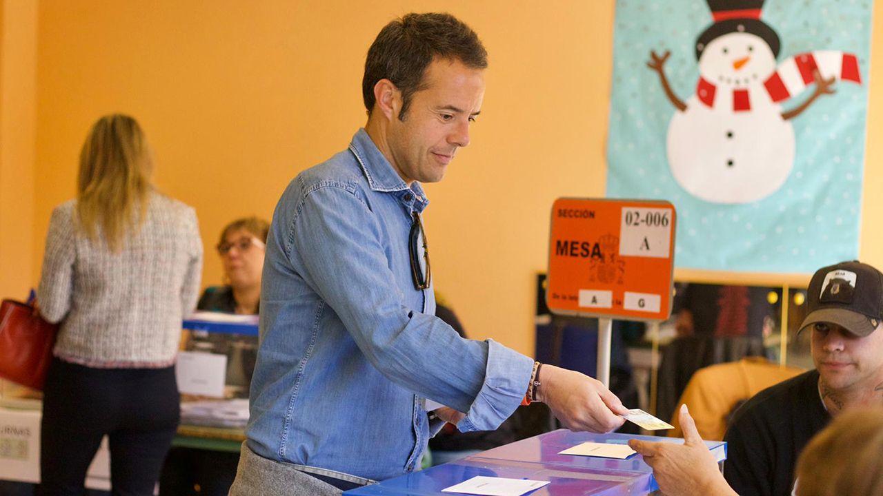 Ignacio Cuesta, candidato de Ciudadanos a la alcaldía