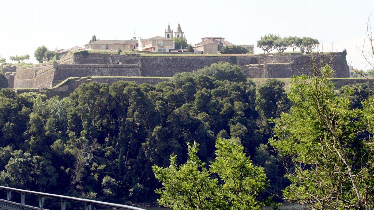 Entre el patrimonio intervenido figura un centro comercial en Valença do Miño