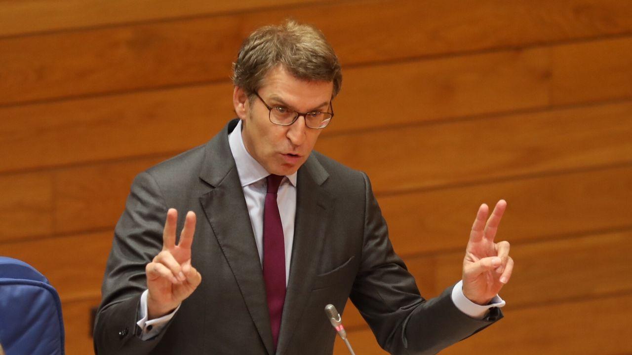 Feijoo se resiste a revelar su futuro y se remite a la sesión del día 20 en el Parlamento de Galicia