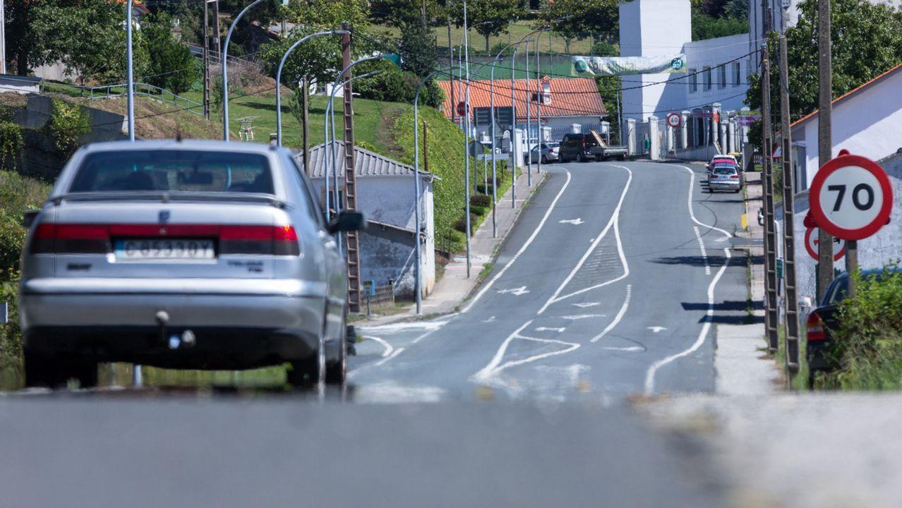 Algunas de las estructuras más altas de Galicia.Las cámaras de Tráfico recoge el atasco en Villaviciosa