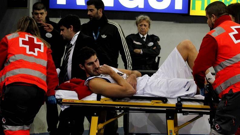 Antelo, lesionado en Vitoria