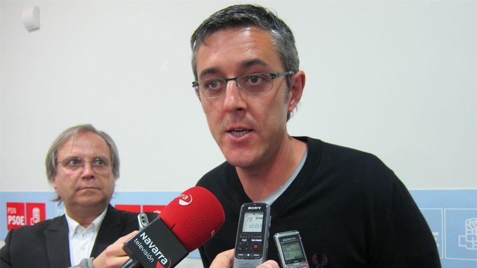 Eduardo Madina, en Laviana