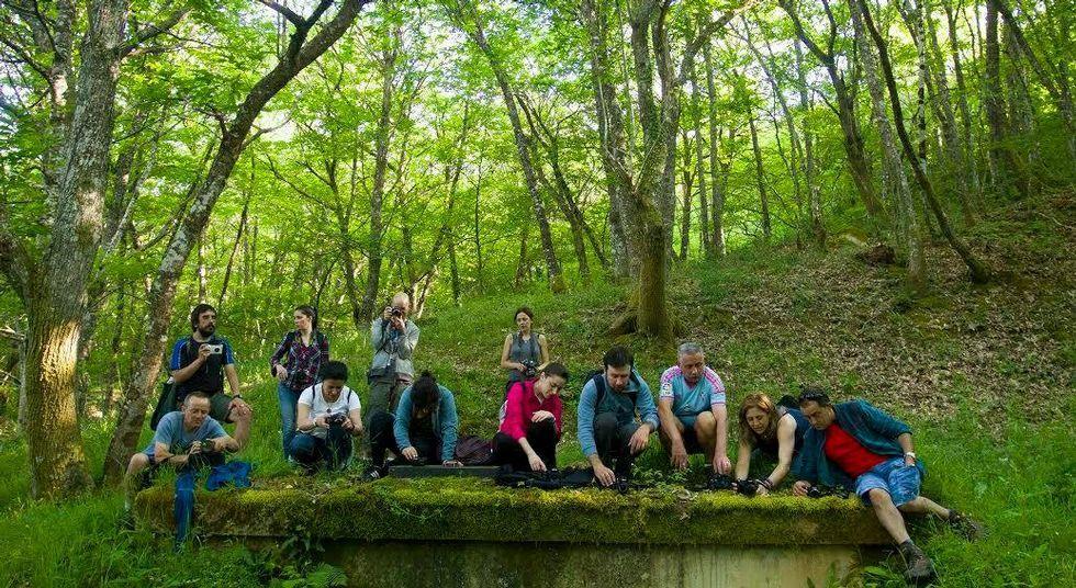 .Un curso de fotografía inauguró el programa de turismo de naturaleza del hotel Os Ancares.