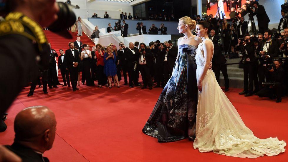 .Cate Blanchett y Rooney Mara