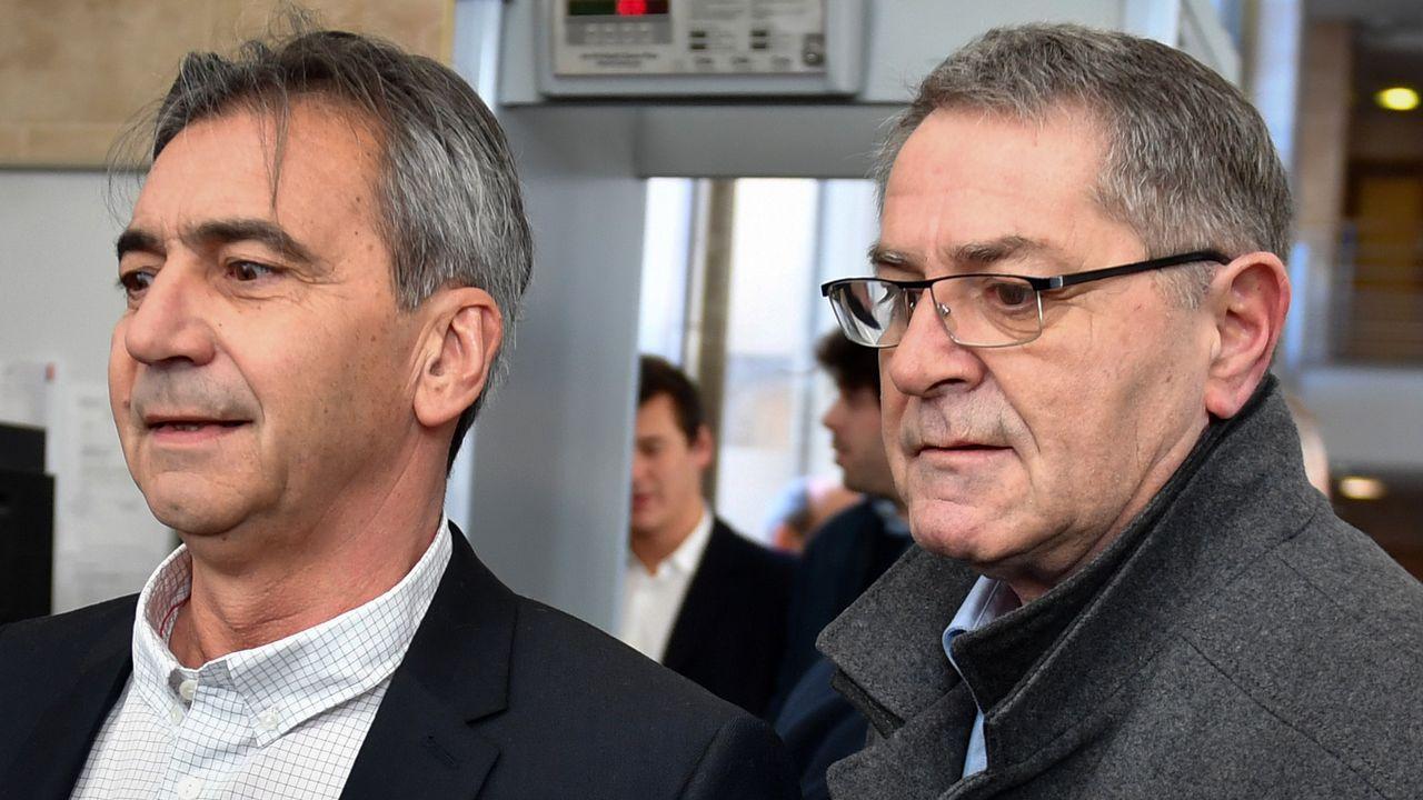 Bruno Odos y Pascal Fauret, copiloto y piloto del avión en el que fue intervenida la cocaína
