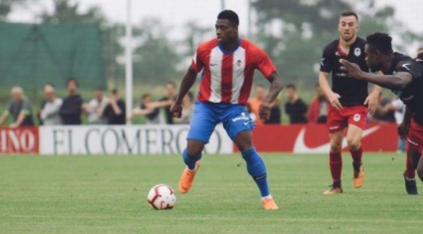 Mossa Sergio Alvarez Real Oviedo Sporting derbi Carlos Tartiere.Neftali