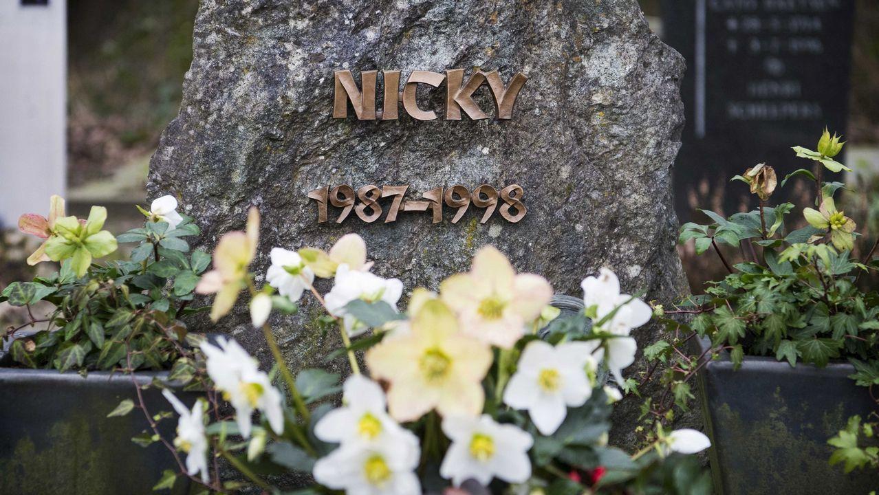 .La tumba del pequeño Nicky Verstappen