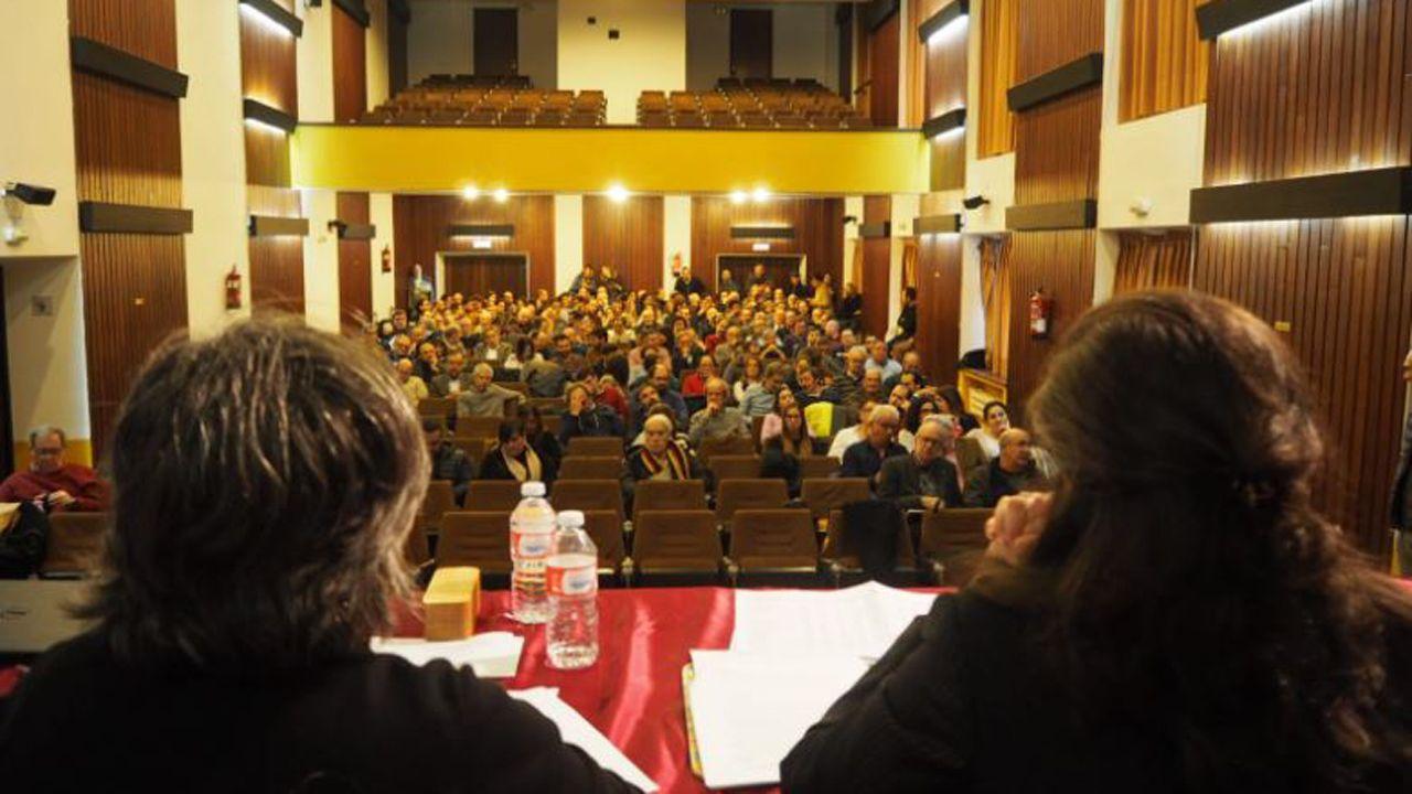 La obra de Gallego Jorreto.Asamblea del Colegio de Arquitectos de Asturias