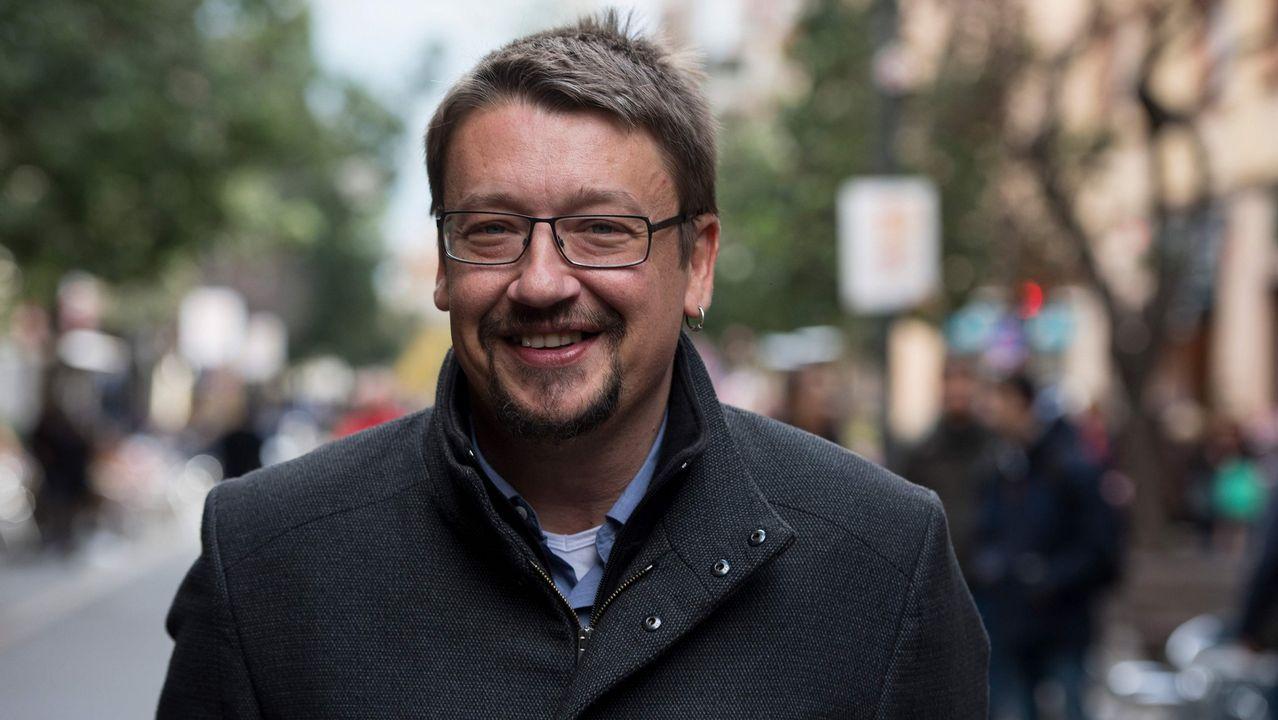 «Santiago recuperou o orgullo de cidade».Alberto Núñez Feijóo participó en Santiago en un acto de entrega de certificados de experiencia profesional