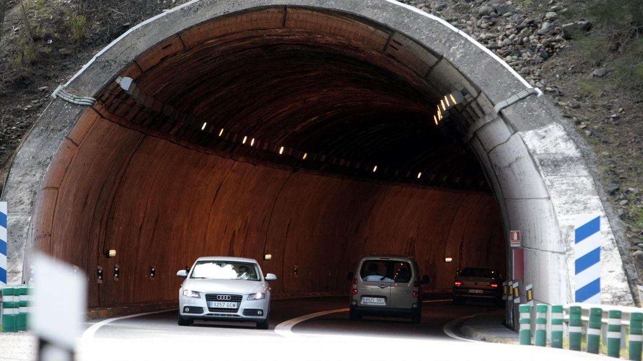 Huellas casi desconocidas de la minería del oro en la comarca quiroguesa.El túnel de Montefurado, uno de los vestigios más célebres de la minería romana local