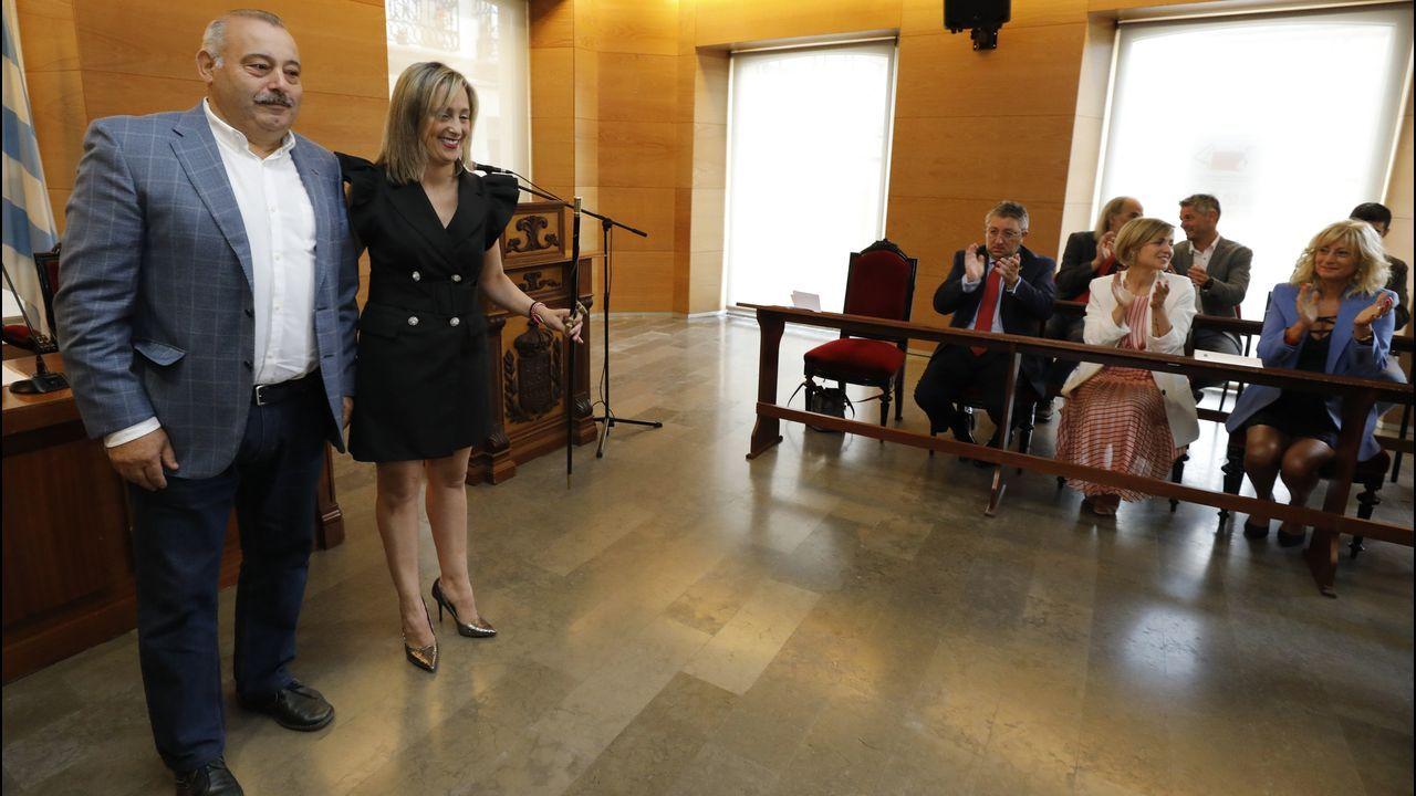 Maria Loureiro tiene otra vez el bastón de mando