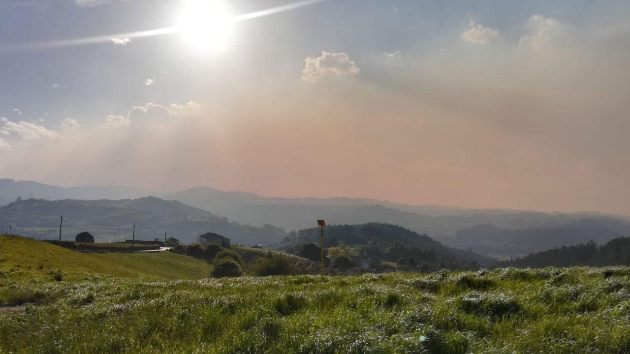 Contaminación en Gijón.El incendio de Llutxent fue uno de los más devastadores del año pasado