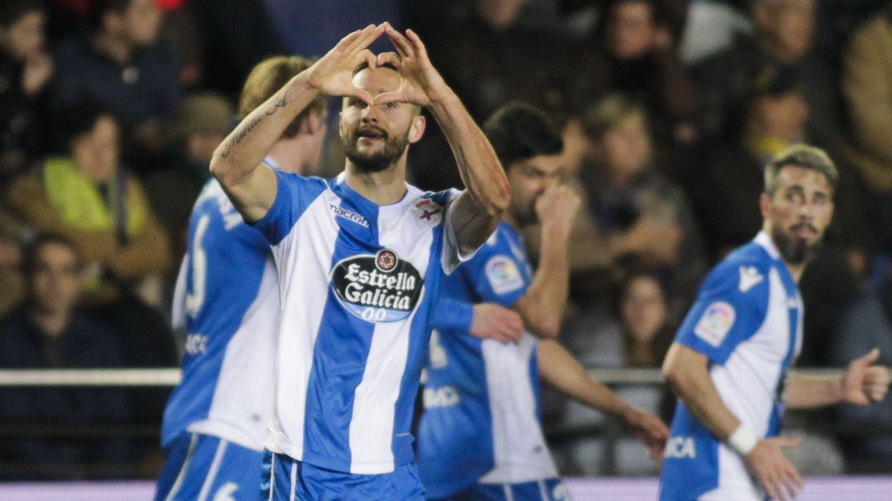 Villarreal - Deportivo, en imágenes.