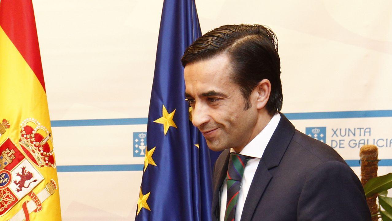José Manuel Rey, conselleiro de Política Social