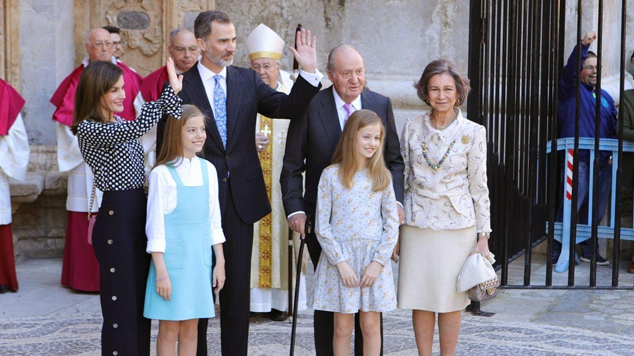 Año 2018: Vuelve Juan Carlos tras varios de ausencia, pero es cuando se produce el encontronazo entre las reinas