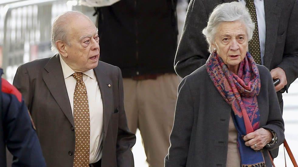Marta Ferrusola y su lenguaje en clave para hablar con la Banca Reig.Travesera de Picos