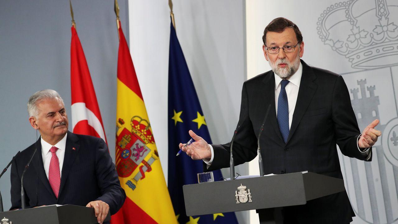 Rajoy dice que era «obligada» la dimisión de Cifuentes