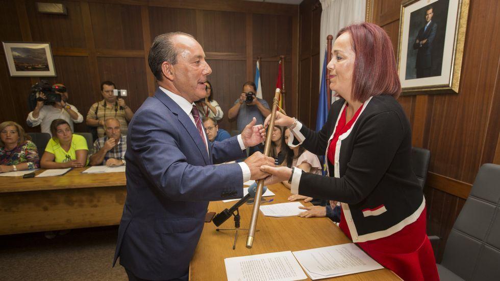 Pleno de investidura de la alcaldesa de Camariñas, Sandra Insua.