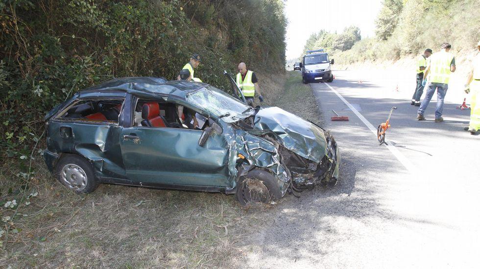 Accidente mortal en Castroverde.