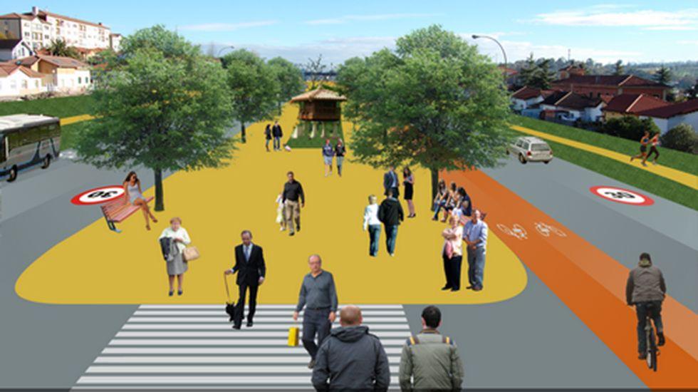 Presupuesto participativos de Oviedo.Proyecto «Imagina un Bulevar»