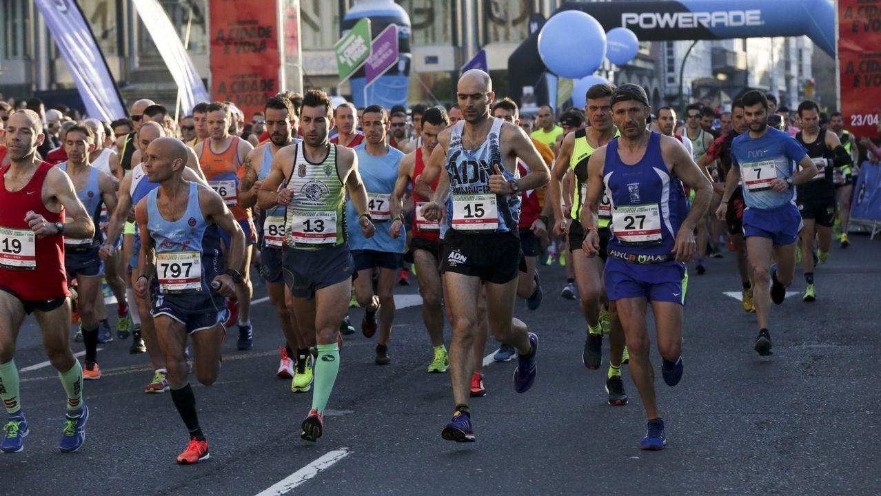 Búscate en la popular 10K y maratón Coruña42
