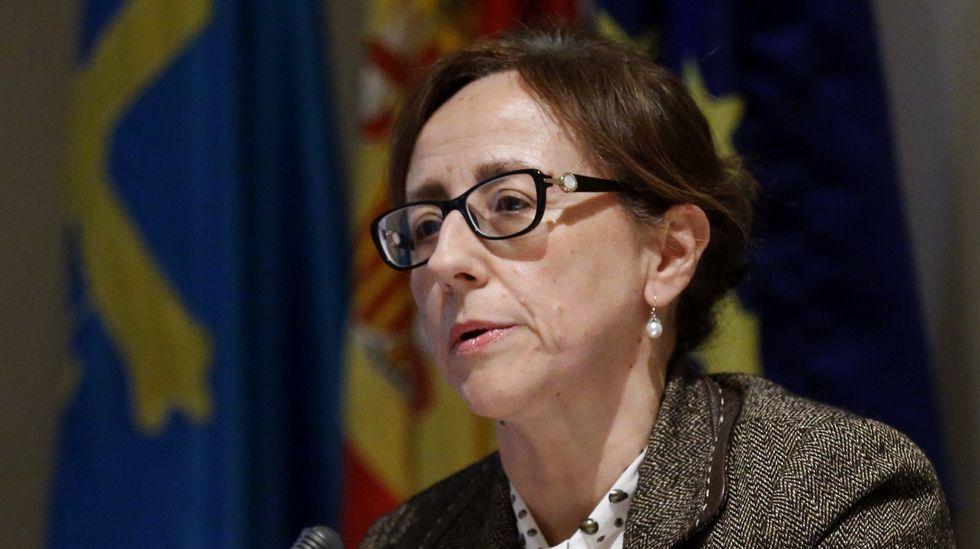 La consejera de Infraestructuras, Ordenación del Territorio y Medio Ambiente, Belén Fernández