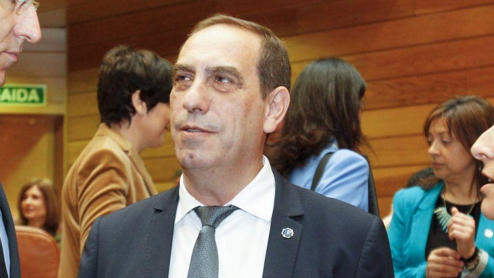Valeriano Martínez García. Conselleiro de Facenda.
