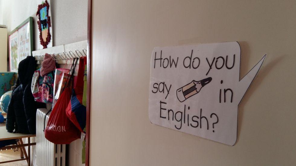 La enseñanza del inglés esta generalizada en todos los niveles educativos