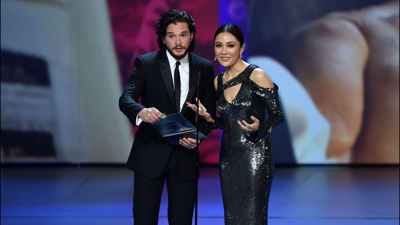 Emmy 2018: Kit Harington y Constance Wu
