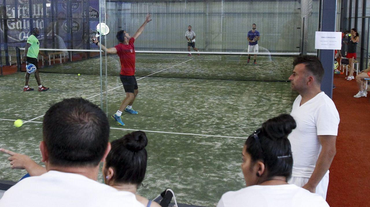 Recreacion virtual del polideportivo de Ciudad Naranco que se ubicará en una parcela del colegio Loyola