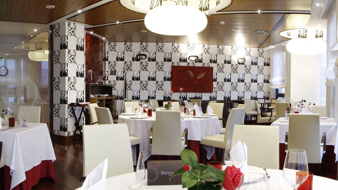 Restaurante Blanco en Navia